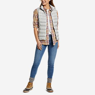 Thumbnail View 3 - Women's Stine's Favorite Spring Flannel 2.0 Shirt - Boyfriend