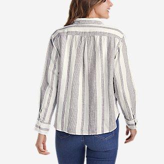 Thumbnail View 2 - Women's Beach Light Linen Shirt