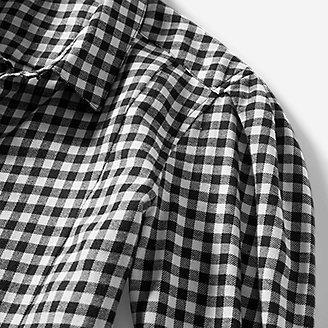 Thumbnail View 3 - Women's Fremont Flannel Puff-Sleeve Shirt