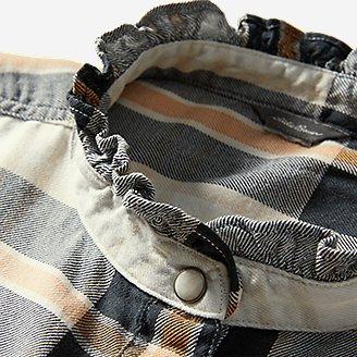 Thumbnail View 3 - Women's Fremont Flannel Ruffle-Neck Shirt