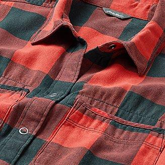 Thumbnail View 3 - Women's Fremont Flannel Frayed Hem Shirt