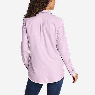 Thumbnail View 2 - Women's Firelight Flannel Shirt - Solid