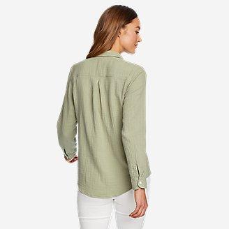 Thumbnail View 2 - Women's Carry-On Button-Down Shirt