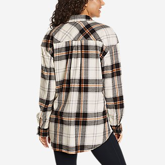 Thumbnail View 2 - Women's Fremont Flannel Snap-Front Tunic