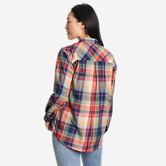 Thumbnail View 2 - Women's Firelight Flannel Shirt - Boyfriend