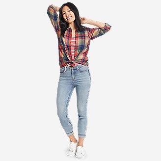 Thumbnail View 3 - Women's Firelight Flannel Shirt - Boyfriend
