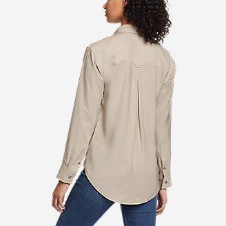 Thumbnail View 2 - Women's Tranquil Sandwash Long-Sleeve Shirt