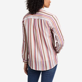 Thumbnail View 2 - Women's Carry-On Long-Sleeve Button-Down Shirt