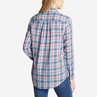 Thumbnail View 2 - Women's Tranquil Boyfriend Shirt - Plaid