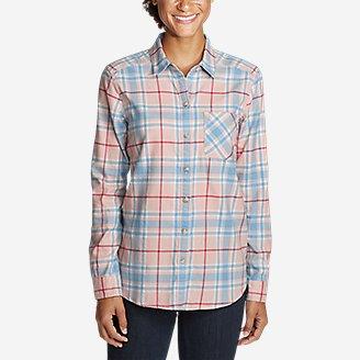 Thumbnail View 3 - Women's Stine's Favorite Flannel Shirt - Boyfriend