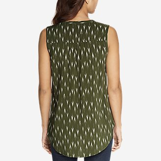 Thumbnail View 3 - Women's Sunrise Sleeveless Popover Shirt