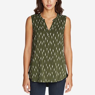 Thumbnail View 2 - Women's Sunrise Sleeveless Popover Shirt