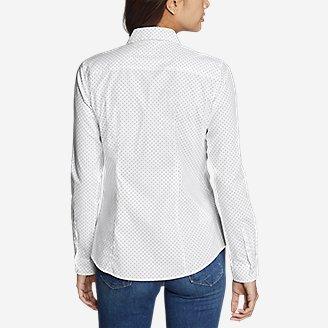 Thumbnail View 2 - Women's Wrinkle-Free Long-Sleeve Shirt - Print