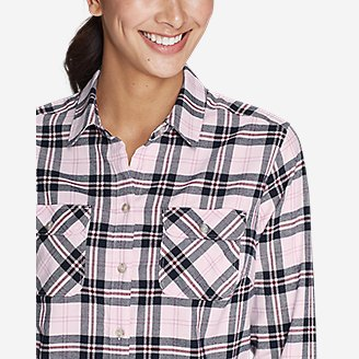 Thumbnail View 3 - Women's Stine's Favorite Flannel Shirt - Plaid