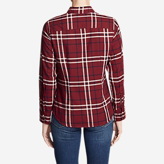 Thumbnail View 2 - Women's Stine's Favorite Flannel Shirt - Plaid