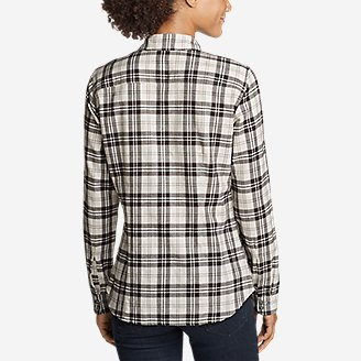 Thumbnail View 2 - Women's Stine's Favorite Flannel Shirt - Plaid