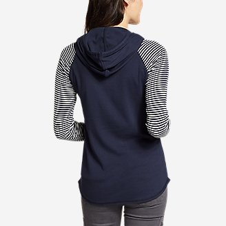 Thumbnail View 2 - Women's Favorite Pullover Hoodie - Stripe
