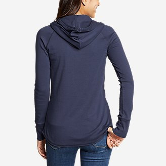 Thumbnail View 2 - Women's Favorite Pullover Hoodie - Solid