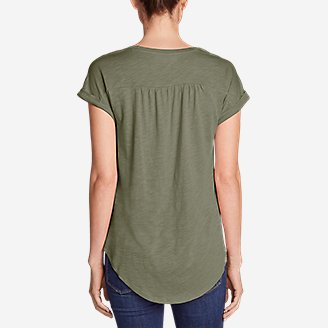 Thumbnail View 2 - Women's Gatecheck Tunic T-Shirt
