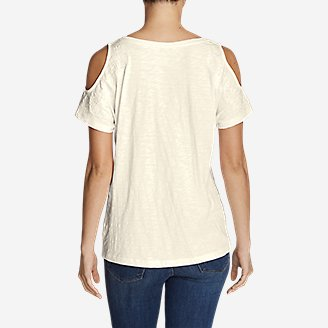 Thumbnail View 2 - Women's Mountain Meadow Cold Shoulder T-Shirt