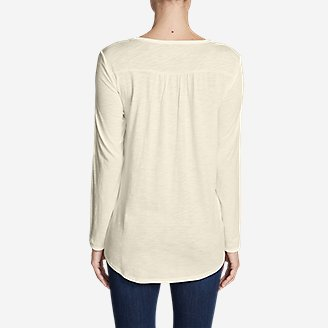 Thumbnail View 2 - Women's Willow Lace Long-Sleeve Scoop T-Shirt