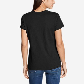 Thumbnail View 2 - Women's Legend Wash Slub Short-Sleeve Crew T-Shirt