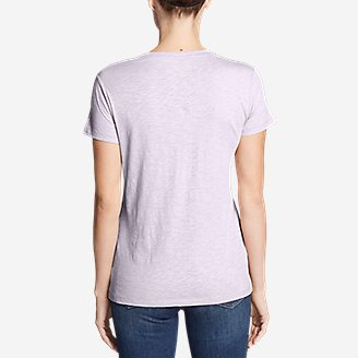 Thumbnail View 2 - Women's Legend Wash Slub Short-Sleeve V-Neck T-Shirt