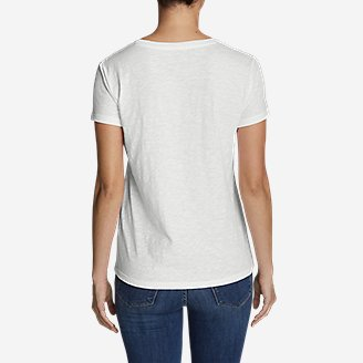 Thumbnail View 2 - Women's Legend Wash Slub Short-Sleeve Scoop-Neck T-Shirt