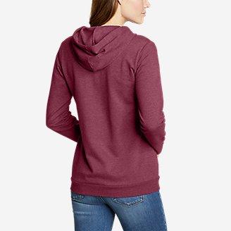 Thumbnail View 2 - Women's Camp Fleece Full-Zip Hoodie