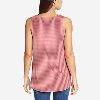 Thumbnail View 2 - Women's Celestial Ultrasoft Tank - Stripe