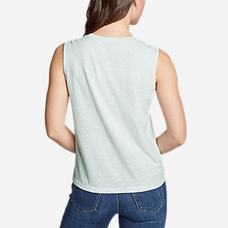 Thumbnail View 2 - Women's Legend Wash Slub Tank Top