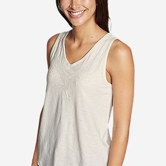 Thumbnail View 3 - Women's Ravenna Embroidered Tank Top