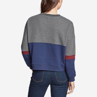 Thumbnail View 2 - Women's Colorblocked Sweatshirt