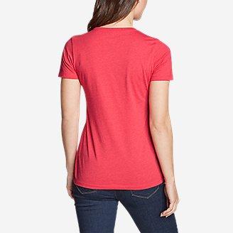 Thumbnail View 2 - Women's Graphic T-Shirt - Retro USA Star