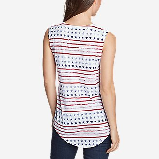 Thumbnail View 2 - Women's Graphic Tank Top - All Over Print