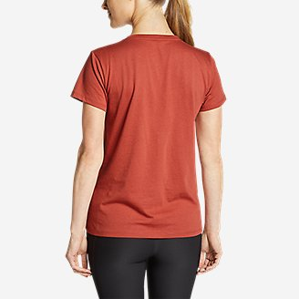 Thumbnail View 2 - Women's Graphic T-Shirt - Line Drawing