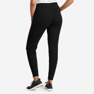Thumbnail View 2 - Women's Cozy Camp Fleece Jogger Pants
