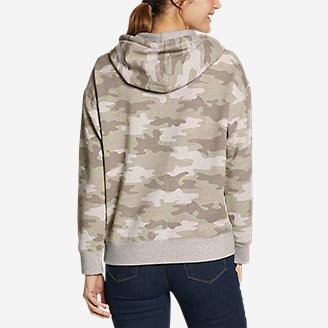 Thumbnail View 2 - Women's Cozy Camp Kangaroo Pocket Hoodie