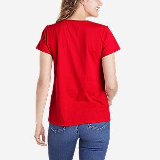 Thumbnail View 2 - Women's Graphic T-Shirt - Maple Leaf