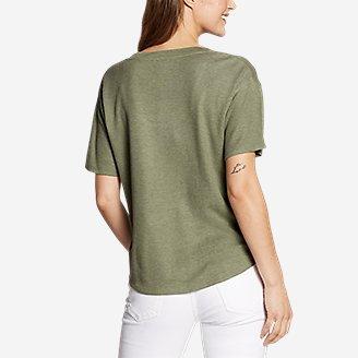 Thumbnail View 2 - Women's Softgoods Thermal Short-Sleeve T-Shirt