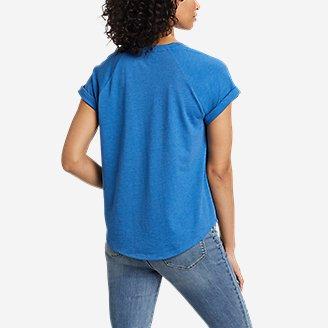 Thumbnail View 2 - Women's Myriad Roll-Sleeve T-Shirt