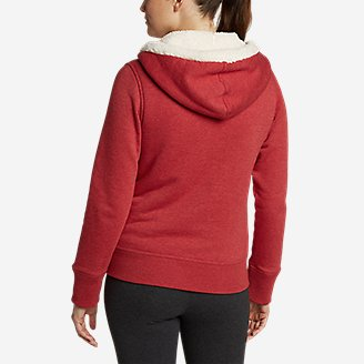 Thumbnail View 2 - Women's Cabin Fleece Sherpa Hoodie