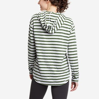 Thumbnail View 2 - Women's Safari Duofold Pullover -Stripe
