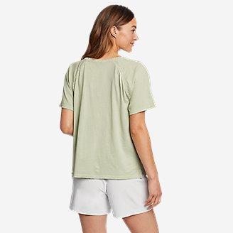 Thumbnail View 2 - Women's Ophelia Short-Sleeve Lace T-Shirt