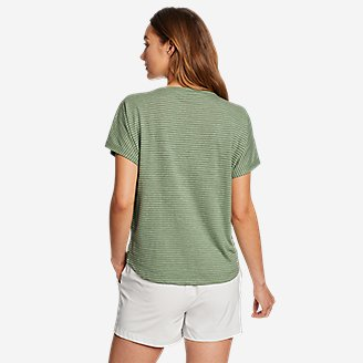 Thumbnail View 2 - Women's Solstice Slub Dolman-Sleeve T-Shirt