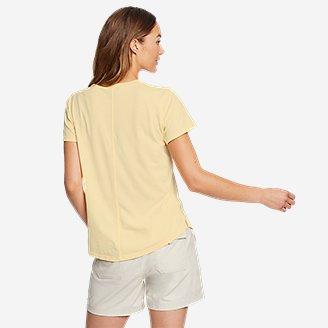 Thumbnail View 2 - Women's Mineral Wash Novelty T-Shirt