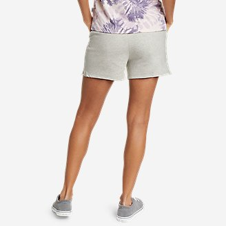 Thumbnail View 2 - Women's Cozy Camp Fleece Shorts