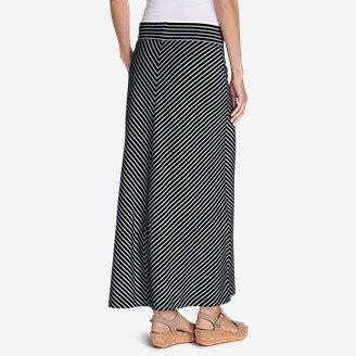 Thumbnail View 2 - Women's Kona Maxi Skirt - Stripe