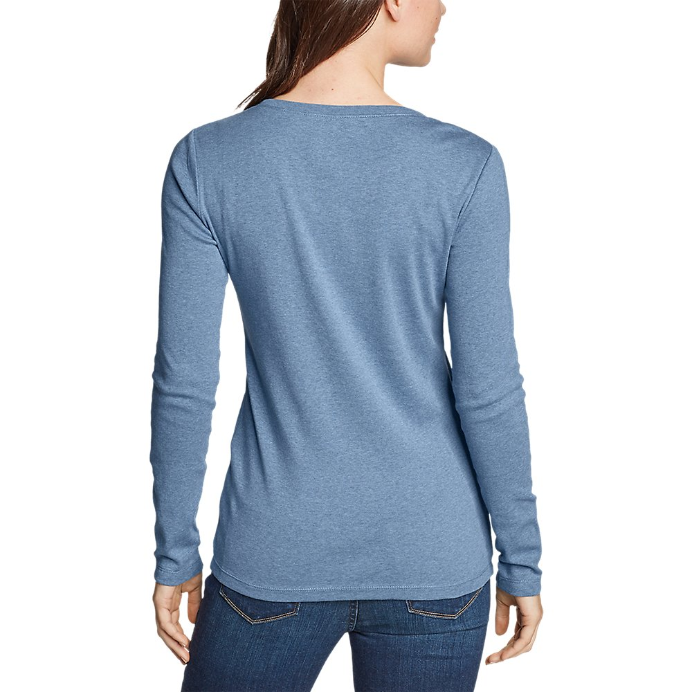 Eddie-Bauer-Women-039-s-Favorite-Long-Sleeve-Crewneck-T-Shirt thumbnail 21