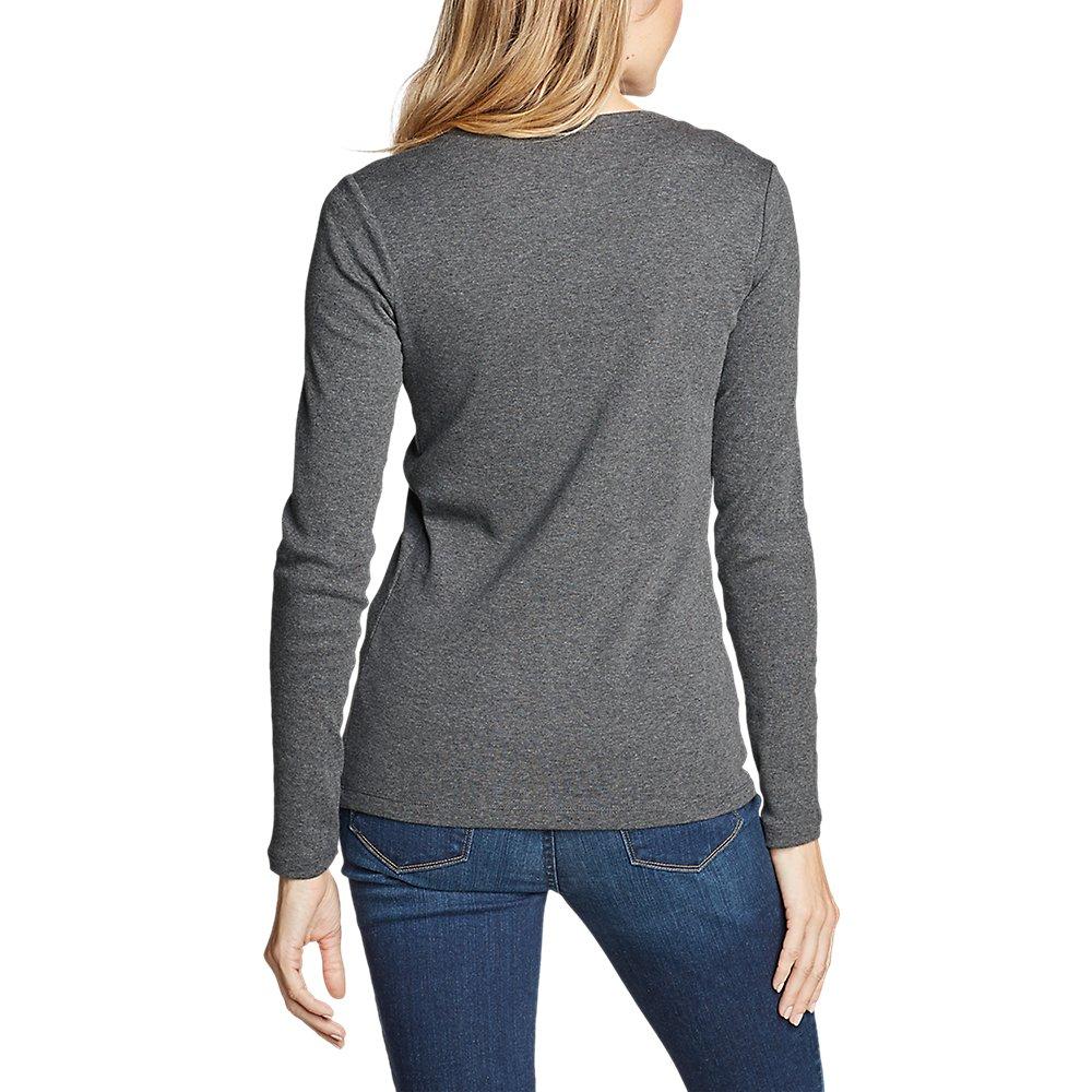 Eddie-Bauer-Women-039-s-Favorite-Long-Sleeve-Crewneck-T-Shirt thumbnail 46